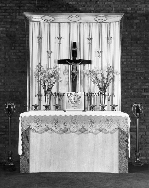 Altar metalwork for Saint Stephen's Greek Catholic Church.jpg