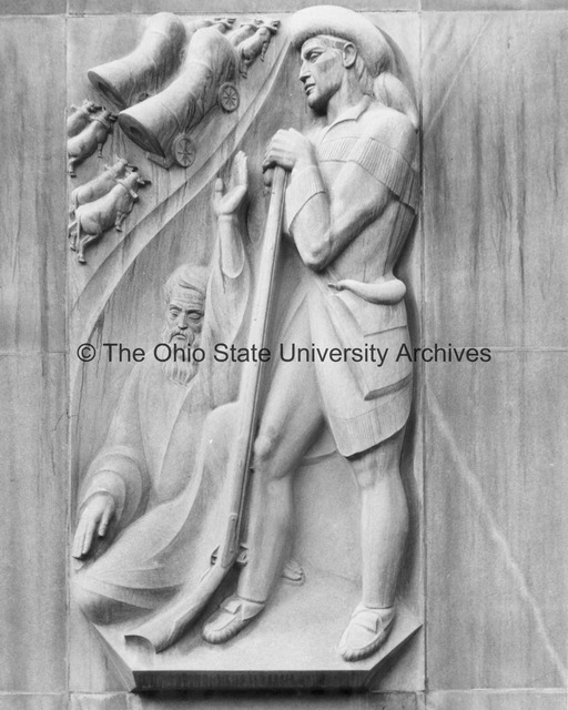 Close-up of Pioneers and Early Settlers from the Ohio Union Building at Ohio State University.jpg