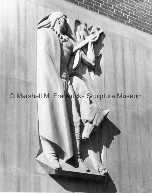 Indians of the Ohio River Valley from the Ohio Union Building at Ohio State University.jpg