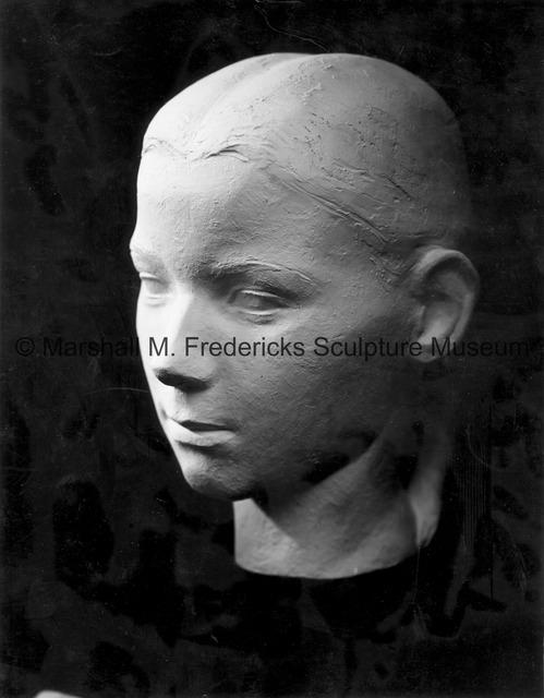 Plaster model for Portrait of Jean Raseman.jpg
