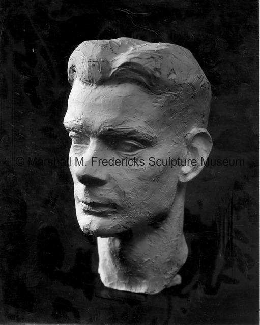 Plaster model for Portrait of Walker Hickey.jpg