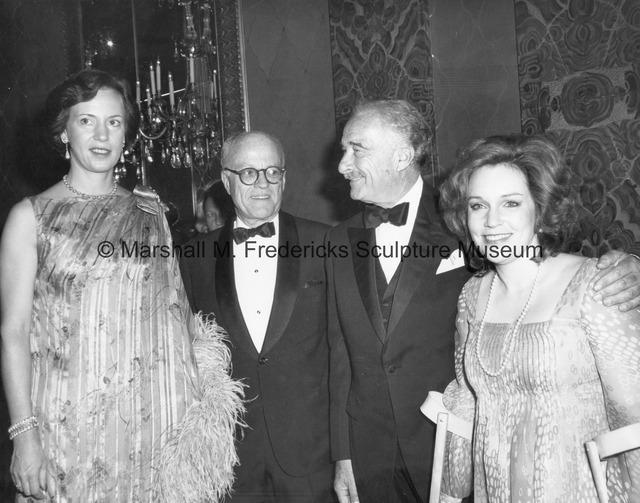 Princess Benedikte, ICD President Jeremiah Milbank, Victor Borge and soprano Irene Gubrud.jpg