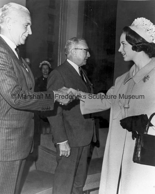 Princess Benedikte meets Harry C. Hagerty and Frank B. Shepard.jpg