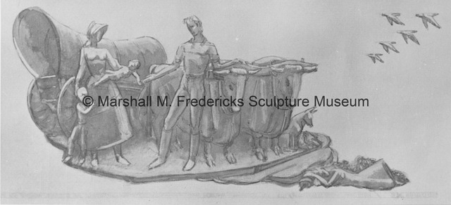 Project drawing of Dream of the Young Girl for the University of Michigan Administration Building.jpg