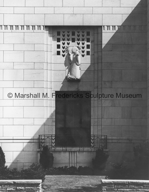 View of Chinese Astronomer on the exterior of the Horace H. Rackham Memorial Educational Building.jpg