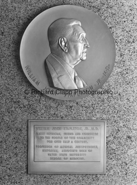 William John Stapleton Jr. M.D. Portrait Relief.jpg