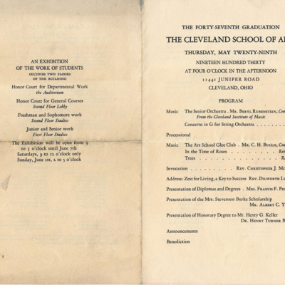 Cleveland School of Art Graduation Program1.jpg