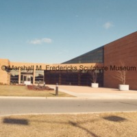 Arbury Fine Arts Center and the Marshall M. Fredericks Sculpture Museum - rear entrance.tif