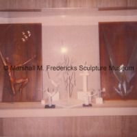 Armatures and maquettes for sculptures on display in the Marshall M. Fredericks Sculpture Museum.tif