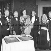 CD President Jeremiah Milbank, Jr.; award recipient Harry J. Gray, Chairman of United Technologies; Victor Borge; award recipient Princess Benedikte.jpg