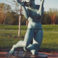 Close-up of bronze Persephone (Bacchante) in the Sculpture Garden of the Marshall M. Fredericks Sculpture Museum.tif