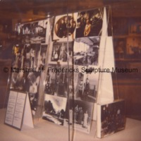 Display of Marshall Fredericks-related photographs in the Marshall M. Fredericks Sculpture Museum.tif