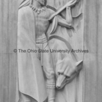 Front view of Indians of the Ohio River Valley from the Ohio Union Building at Ohio State University.jpg