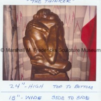 Front view of The Thinker.tif