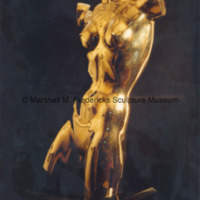 Front view of Torso of a Dancer in polished bronze.jpg