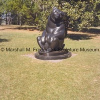 Front view of Two Bears at Brookgreen Gardens.tif