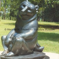 Frontside view of Two Bears at Brookgreen Gardens.tif