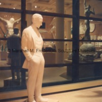 Full-scale plaster model of Henry Ford in the Marshall M. Fredericks Sculpture Museum.tif