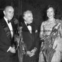Harry J. Gray, Chairman of United Technologies, Victor Borge and Princess Benedikte at the 1981 ICD Communications Award Dinner.jpg