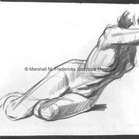 Life drawing of female nude reclining.tif