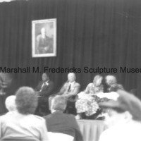Marshall and Rosalind Fredericks at an event in honor of Floyd Starr.tif
