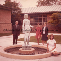 Marshall and Rosalind Fredericks with daughters Rosalind and Suzanne (Suki) Fredericks at Kingswood School.jpg