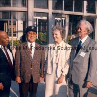Marshall and Rosalind Fredericks with the Mayor of Toyota, Japan and the Deputy Mayor of Detroit.jpg