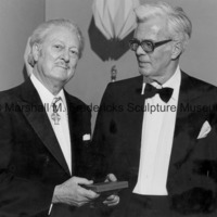 Marshall Fredericks and Bengt Johns, Chicago Danish Consul.jpg