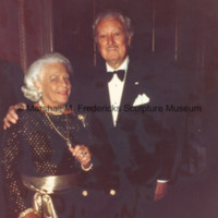 Marshall Fredericks and Mrs. H. Lawrence Bogert at the 1985 ICD Awards Dinner.jpg