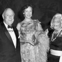 Mr. H. Lawrence Bogert, Princess Benedikte and Mrs. H. Lawrence Bogert,l Chairman of ICD at the 1981 Communications Award Dinner.jpg