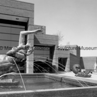 Night from Night and Day Fountain, The Lion and Mouse and Two Sisters at the Marshall M. Fredericks Sculpture Museum.jpg