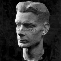 Plaster model for Portrait of Walker Hickey.jpg