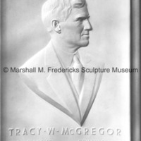 Plaster model for the Tracy W. McGregor Portrait Relief.jpg