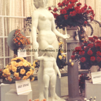 Plaster model for Two Sisters (Mother and Child) on display at the Allied Florists Association exhibit at Cobo Hall.jpg