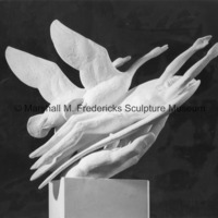 Plaster model for Wings of the Morning.jpg