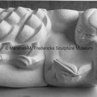 Plaster model of Adventurer for the University of Michigan Administration Building.tif