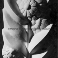 Plaster model of flower for the University of Michigan Administration Building.jpg