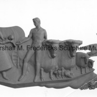 Plastline model of Dreams of the Young Girl for the University of Michigan Administration Building.jpg