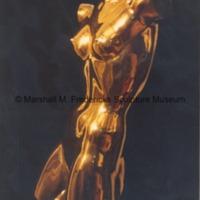 Polished bronze Torso of a Dancer - sidefront view.tif
