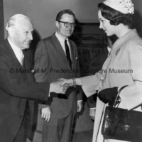 Princess Benedikte greets Isaac B. Grainger and Robert G. Collier.jpg