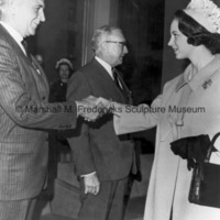 Princess Benedikte meets Harry C. Hagerty and Frank B. Shepard.jpg