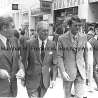 Raymond Burr, Don Galloway and Marshall Fredericks in Copenhagen, Denmark.jpg