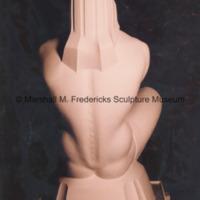 Rear view of the plaster model for Sun Worshipper.jpg