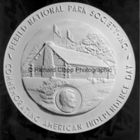Reverse of the plaster model for Rebild American Independence Day Medal.jpg