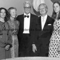 Rosalind Rymal, Rosalind Fredericks, Bengt Johns, Marshall Fredericks and Suzanne (Suki) Fredericks.jpg