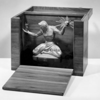 Small-scale bronze of The Spirit of Detroit inside presentation box.jpg