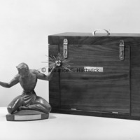 Small-scale bronze of The Spirit of Detroit with presentation box.jpg