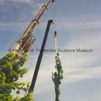 Star Dream Fountain in midair during its installation.tif