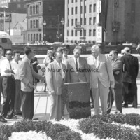 The unveiling of the descriptive plaque for The Spirit of Detroit at the City-County Building.jpg