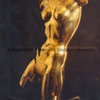 Torso of a Dancer - front view of polished bronze.tif